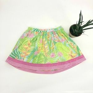 Lilly Pulitzer Skirt Size 8 Kids Girls Adjustable